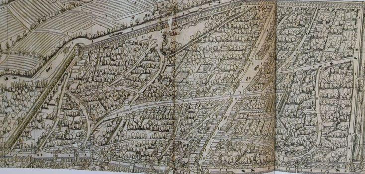 """В городе #Аугсбург есть район Фуггерай, населенный в основном пролетариатом. Этот """"город в городе"""" был основан семейством Фуггеров в 1516 году и включал в себя дешевое #жилье для малоимущих аугсбургских рабочих.   Пожалуй, это первое в мире так называемое «социальное жилье». Его можно очень подробно рассмотреть на карте Аугсбурга 16 века, поражающей своей подробностью: http://portulan.ru/?p=439 #плангорода #Германия #карта #старая карта #mapofaugsburg #пролетариат"""