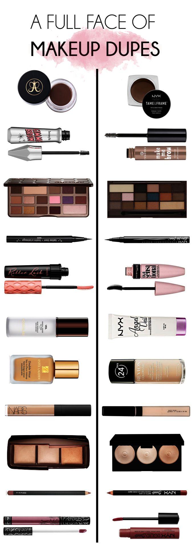Dupe Makeup Durban Dupe Makeup Terbaik Makeup dupes