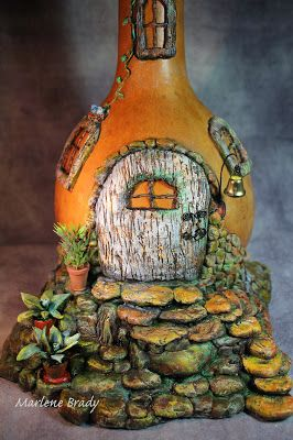 Marlene Brady. Apoxie Sculpt, acrylic paint & polymer clay.