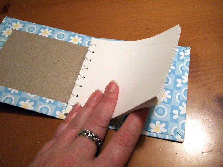 simple bound book.