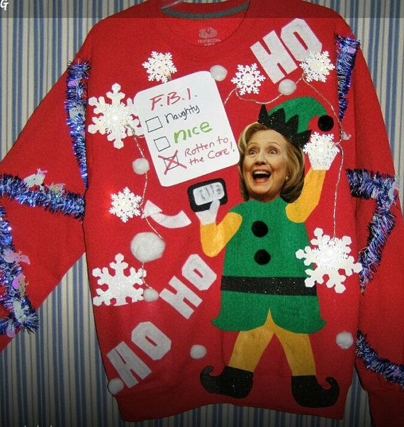 Small Medium Large Xlarge XXL Ugly Christmas by Thecostumestop