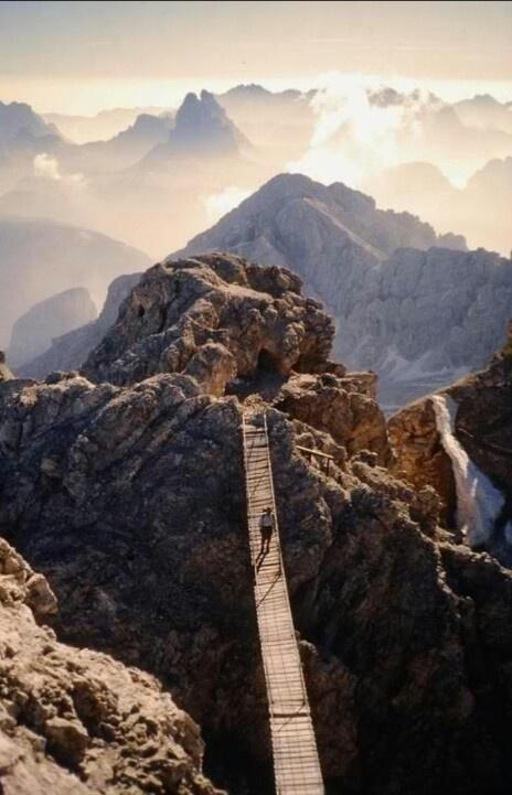 Monte Cristallo, Dolomites - Italie