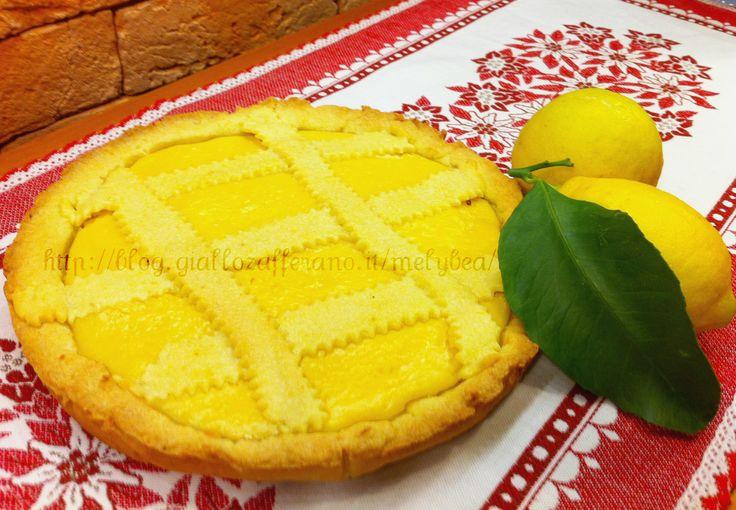 #Crostata alla #crema di #limoni