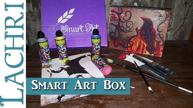 September Smart Art Box - Acrylic Paint Markers w/ Lachri