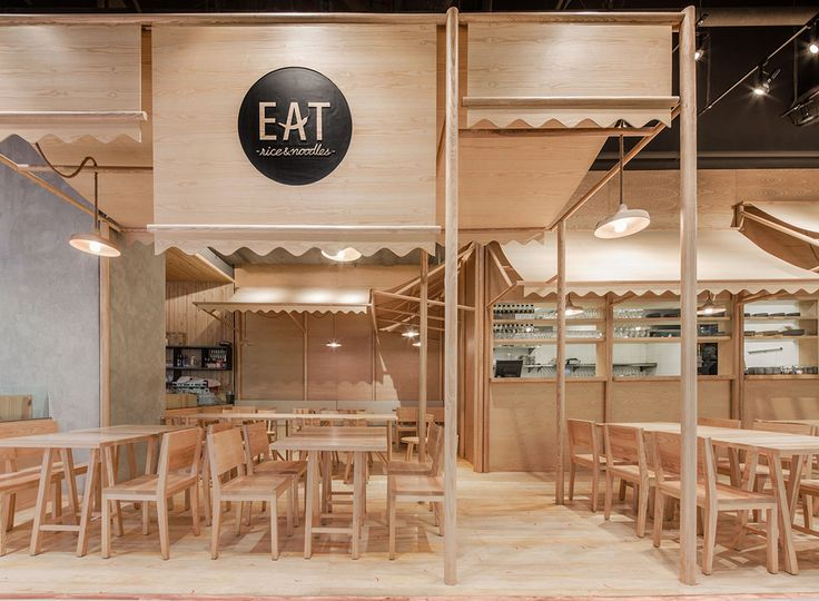 Eat at Emquartier designed by Onion