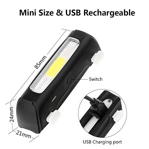 ThorFire Ultra Bright Bike Light USB Rechargeable Bicycle Tail Light 5 Mode High Intensity Rear LED Accessories Fits On Any Road Bikes & Helmet, Easy To Install for Cycling Safety Flashlight http://bestbike.online/product/thorfire-ultra-bright-bike-light-usb-rechargeable-bicycle-tail-light-5-mode-high-intensity-rear-led-accessories-fits-on-any-road-bikes-helmet-easy-to-install-for-cycling-safety-flashlight/