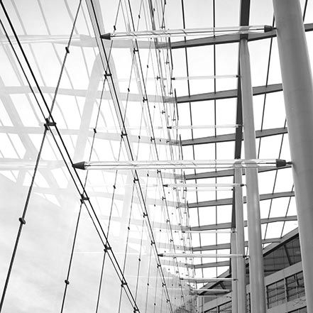 Material Matters: Glass #glass #london #struts #bracing #tube #structure #steel