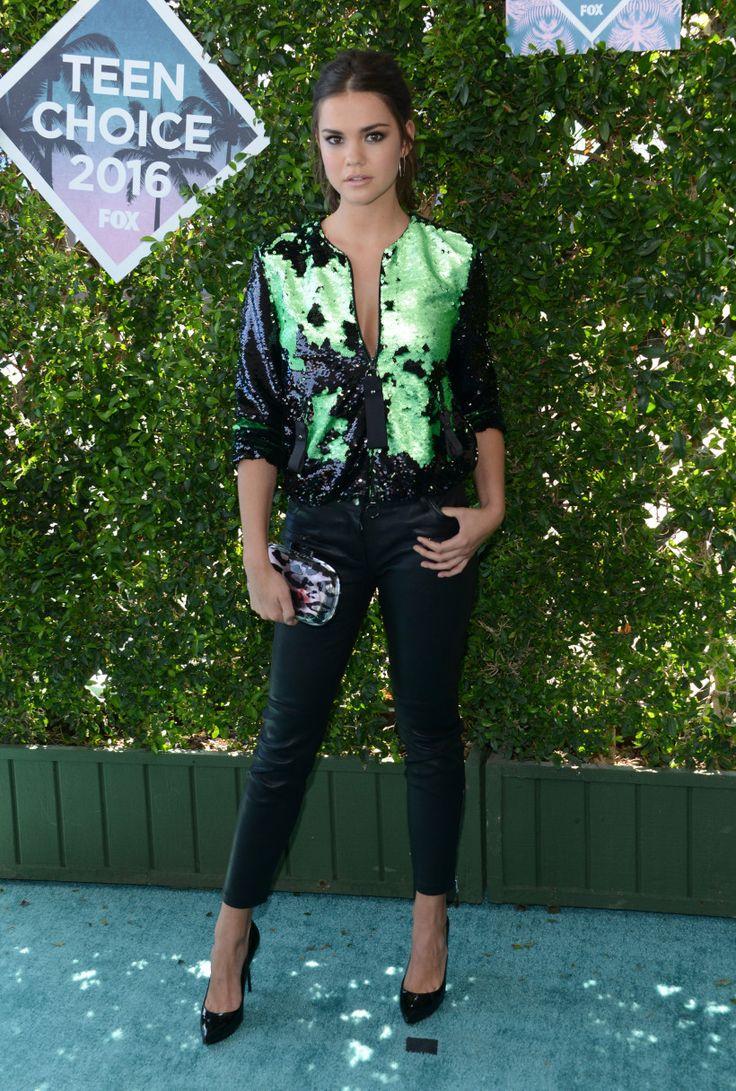 Maia Mitchell in Emporio Armani | Teen Choice Awards 2016
