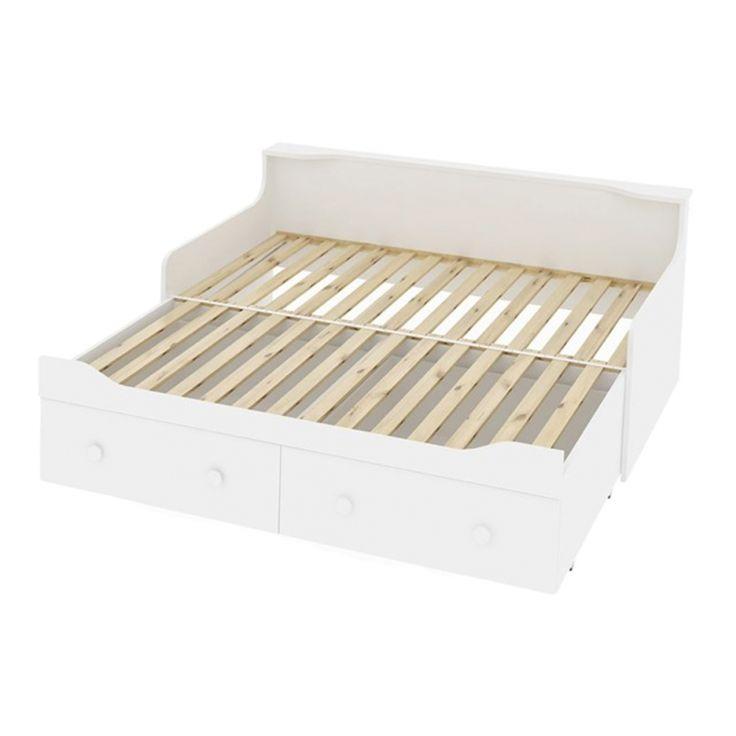 ausziehbett combee wei - Modernes Tagesbett Mit Ausziehbett