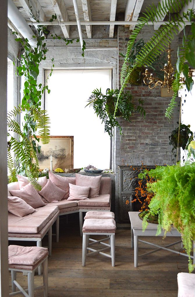 Bellocq Tea Atelier in Greenpoint, Brooklyn // via Spotted SF