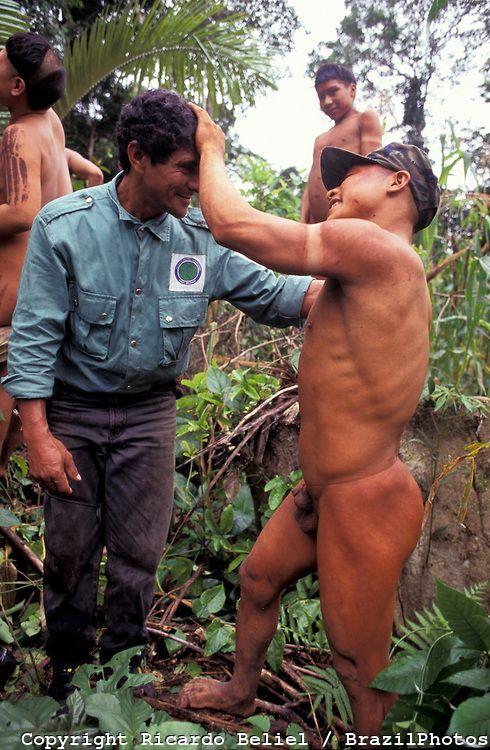 Anthropologist from FUNAI ( Brazilian National Indian ...