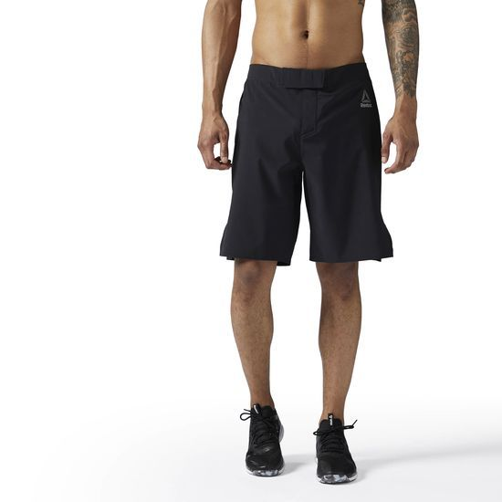 Reebok - LES MILLS PlayDry Short: Kick it in the LES MILLS Speedwick Shorts. These shorts are perfect for a kickboxing class or any other workout that moves you. Our LES MILLS Speedwick Shorts will keep you cool and dry when things start to heat up in the gym, on the court, or while running outside.