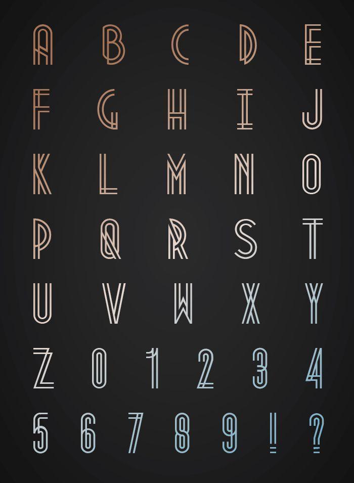 Metropolis free font  Designed byJosip Kelavafrom Melbourne, Australia.