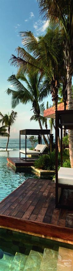 Ritz Carlton Dorado Beach...Puerto Rico - With its serene coastline and palm-fringed beaches, the resort feels worlds away. Nestled within a natural sanctuary, it delivers a true sense of luxury. Seeking to escape the stresses of everyday life? Immerse yourself into a one-of-a-kind destination? Every guestroom and restaurant rests directly on the beach, steps from sea.