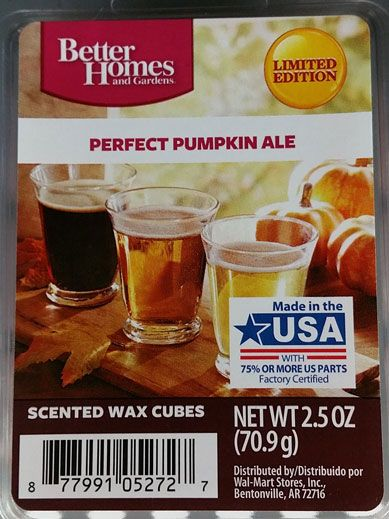 excellent better homes and gardens scented wax cubes. Better Homes  Gardens Perfect Pumpkin Ale Fall 2016 183 best Walmart Scented Wax Melts images
