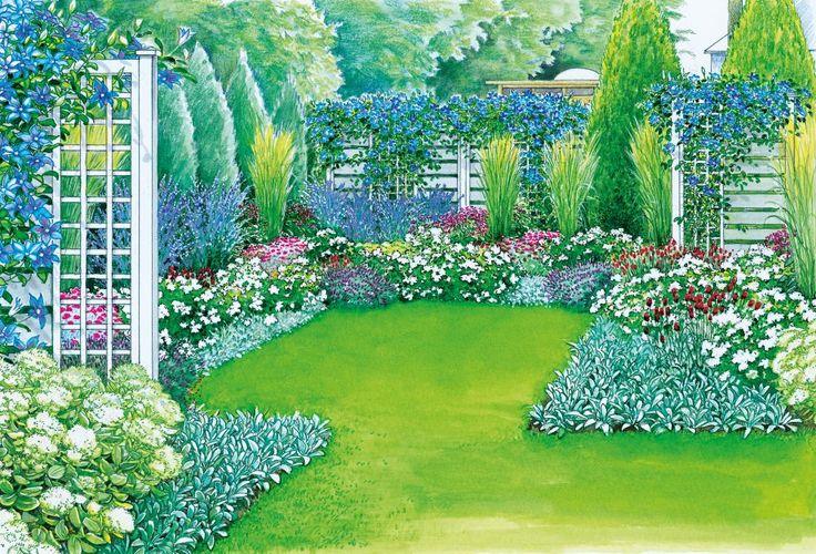 Pinterestissä  Ruinenmauer,Zaun Sichtschutz ja Garten