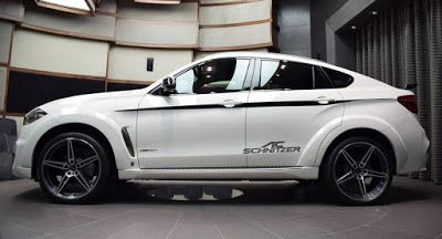 Widebody BMW X 6 xDrive50i von AC Schnitzer ist ein Blickfang AC Schnitzer BMW BMW X6 Galleries Middle East SUV Tuning