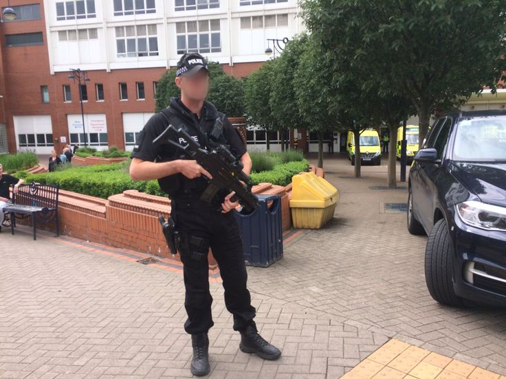 Armed police stand guard outside Leeds General Infirmary after Member of Parliament Jo Cox is Stabbed and shot in Birstall England. [2048x1536] Want an iPad Air/ Air 2/ Air Pro Follow iPad Air Wallpapers To Download board on @cutephonecases