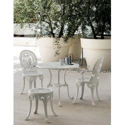 Fast Narcisi Tisch grau metallic