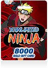 Unlimited Ninja Gold - Based on the Ninja Manga series, Joyfun`s online game, Unlimited Ninja, features fantastic fighting by employing the latest in web game technology.