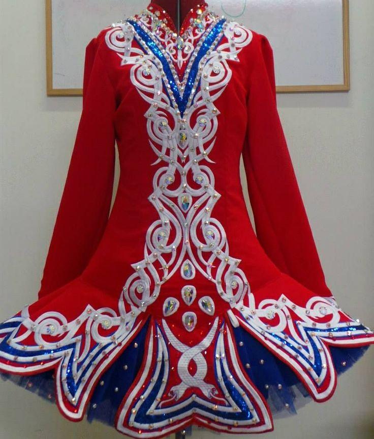 Irish Dance Solo Dress Costume by Doire Dress Designs