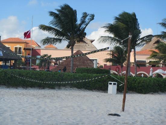 Ocean Coral & Turquesa: beach volleyball