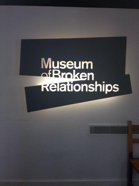 Kroatië, Museum of Broken Relationships - We kunnen overal iets speciaals van maken. Zelfs verbroken relaties.