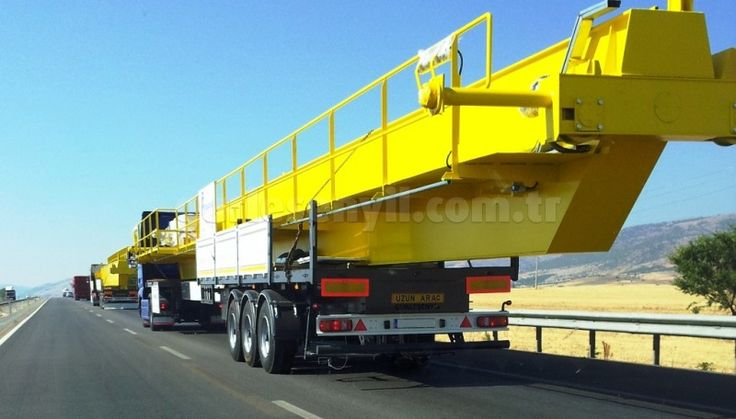 Flatbed Semi Trailer (Fixed or Extendable)