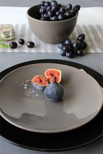 Sophie Ceramics Collection - Mink Grey Side Plate