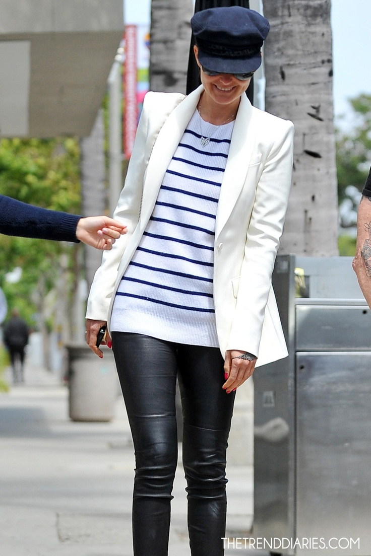 Laetitia Hallyday out in Brentwood, Los Angeles, California - May 5, 2012 | The Trend Diaries - The Latest Celebrity Style and Fashion Trends