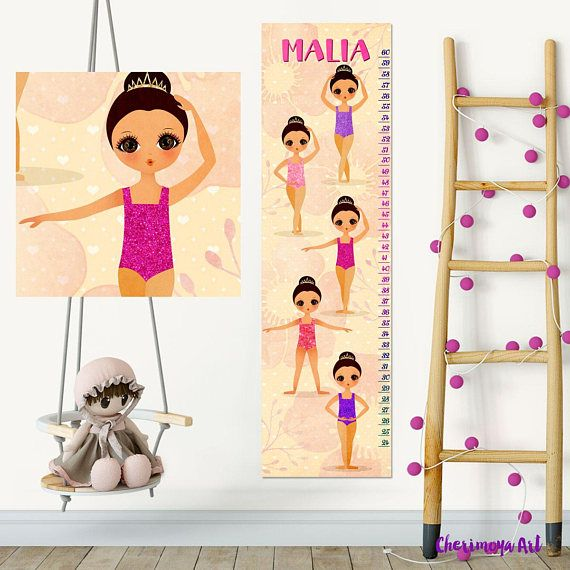 Personalized Growth Chart Kids Gift Kids Height Chart