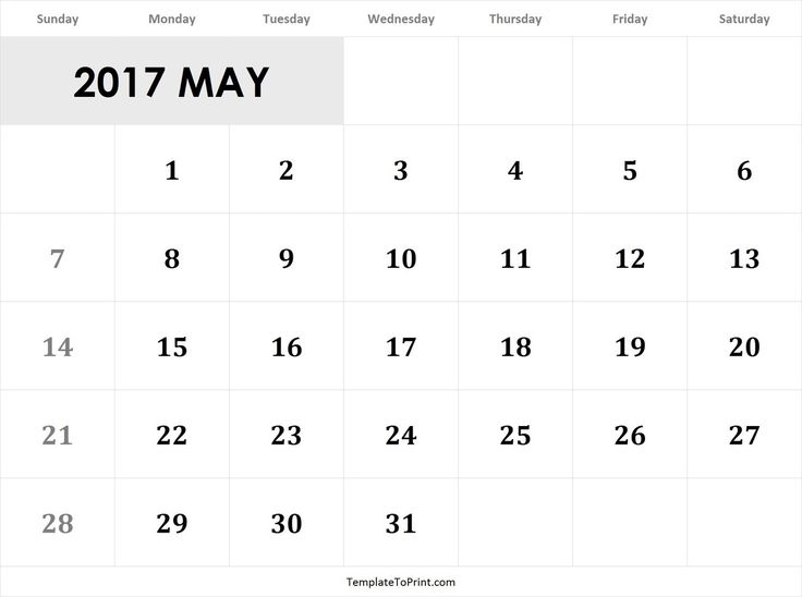 44 Best 2017 Calendar Images On Pinterest Pdf Printable Calendar