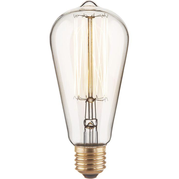 Фотография товара Ретро лампа ЭдисонаST64 60W