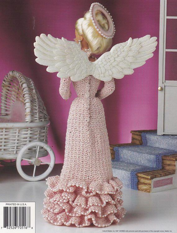 Mothers Love Angel Annie\'s Attic Crochet Fashion Doll   Amigurumii ...