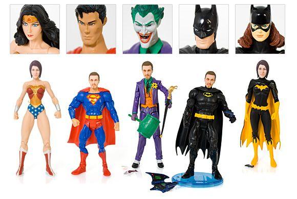 personaliza tu super heroe.