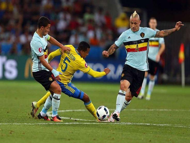 Eurocopa: Bélgica se clasificó para los octavos de final de la Euro como segunda del Grupo E al ganar 1-0 ante Suecia que quedó eliminada del torneo