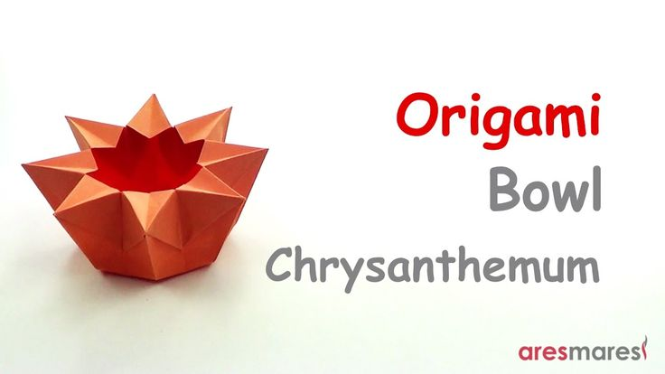 Origami Chrysanthemum Bowl (easy - single sheet) Everything has beauty, but not everyone sees it. #origami #unitorigami #howtomake #handmade #colorful #origamiart #diy #doityourself #paper #papercraft #handcraft #paperfolding #paperfold #paperart #papiroflexia #origamifolding #instaorigami #interior #instapaper #craft #crafts #creative #hobby #оригами #折り紙 #ユニット折り紙 #ハンドメイド #カラフル #종이접기 #اوريغامي