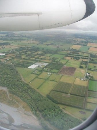 Flight is one of my biggest anxieties, but I really liked this picture from flying over New Zealand.