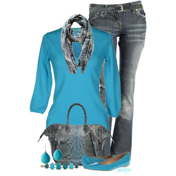 More Turquoise, created by jackie22 on Polyvore