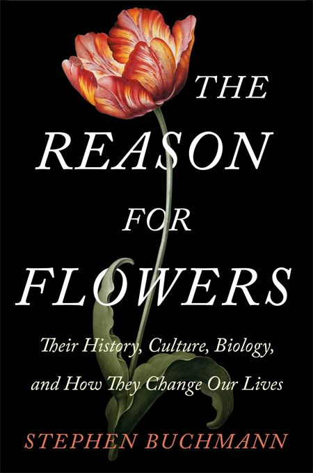 Book Cover of the Week: The Reason for Flowers: Their History, Culture, Biology, and How They Change Our Lives by Stephen Buchmann | Jewish Book Council