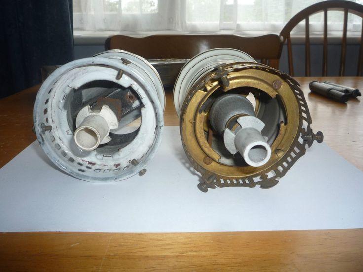 antique graetzin gas lamps. gas lamp parts. gas lamp burner.   eBay