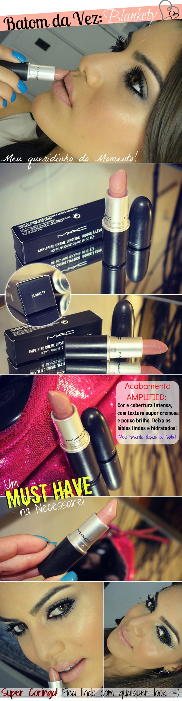 Blankety MAC (amplified) AGAIN! see why it's my fave?!