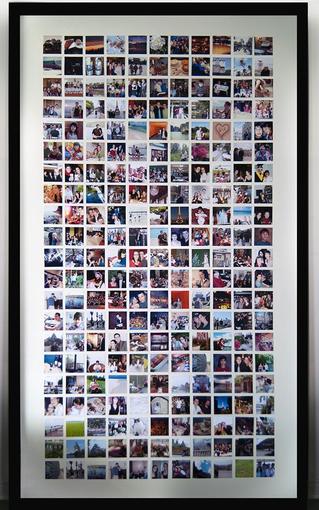 #DIY Huge Photo Frame (with photo template and step-by-step instructions)