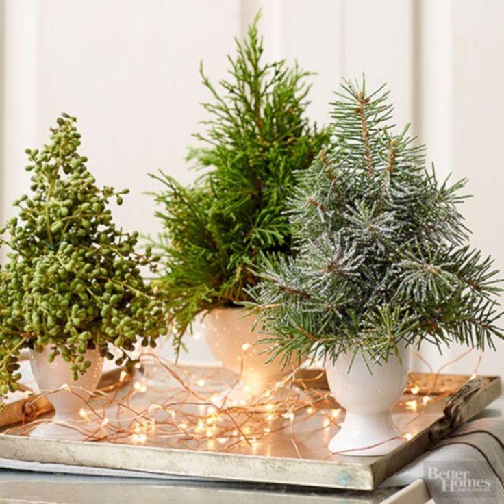 45 Minimalist Christmas Coffee Table Centerpiece Ideas ...