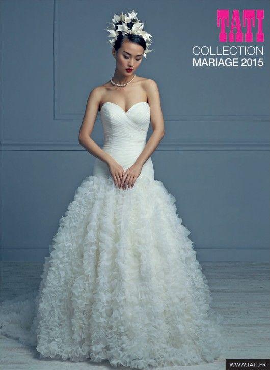 robe de marie nouvelle collection tati mariage 2015 en voir plus ici http - Tati Fr Mariage