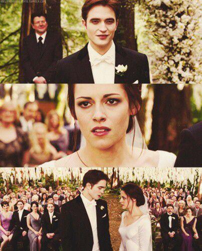 Boda de Bella y Edward
