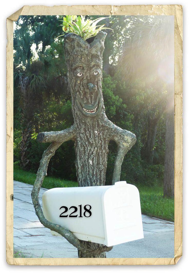 .treeman mailbox.      t                                                                                                                                                     More