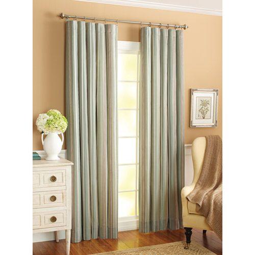 Better Homes And Gardens Atlanta Stripe Curtain Panel