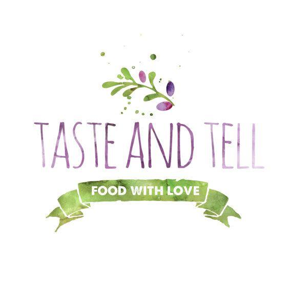 Pre-made Logo Design  Food Blog Logo  Logo Template by VisualPixie