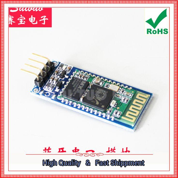 Free Shipping 2pcs UNO-Ar.duino Wireless Bluetooth Serial Transparent Module Wireless Communication HC-06 Slave Bluetooth board #Affiliate